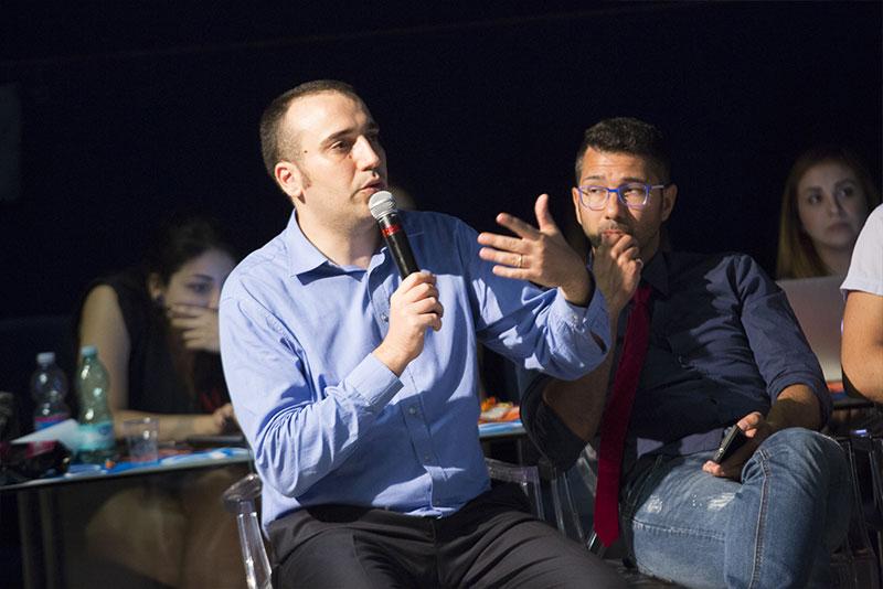interazione tra relatori e speaker al wmt2018