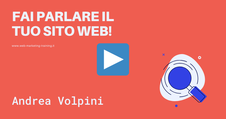 andrea volpini cover speaker web marketing training