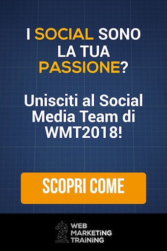 iscriviti al social media team wmt2018