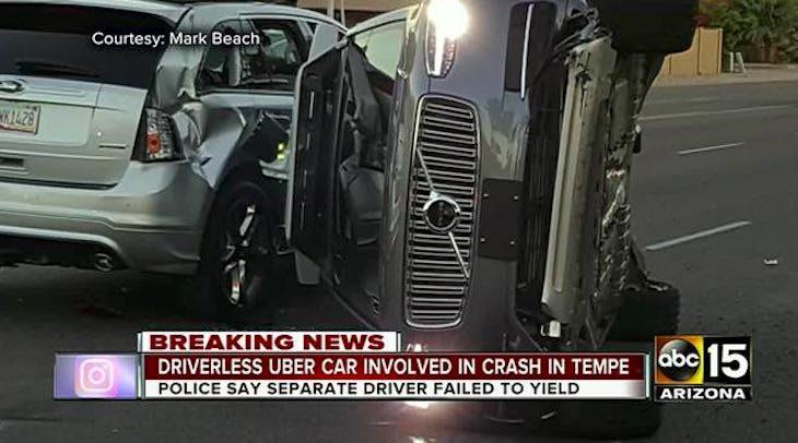 Auto autonoma Uber incidente, articolo di approfondimento sulle auto a guida autonoma di Vanina Basilli
