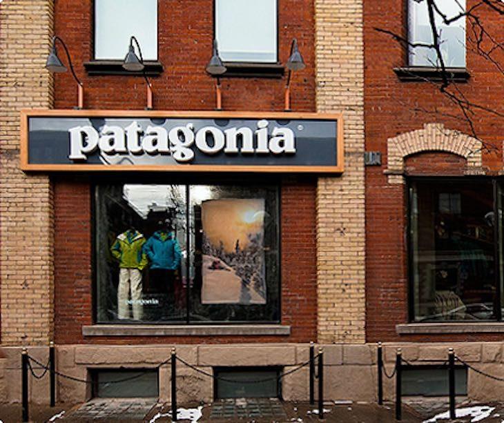 Punto vendita Patagonia, articolo di approfondimento sul brand Patagonia di Vanina Basilli