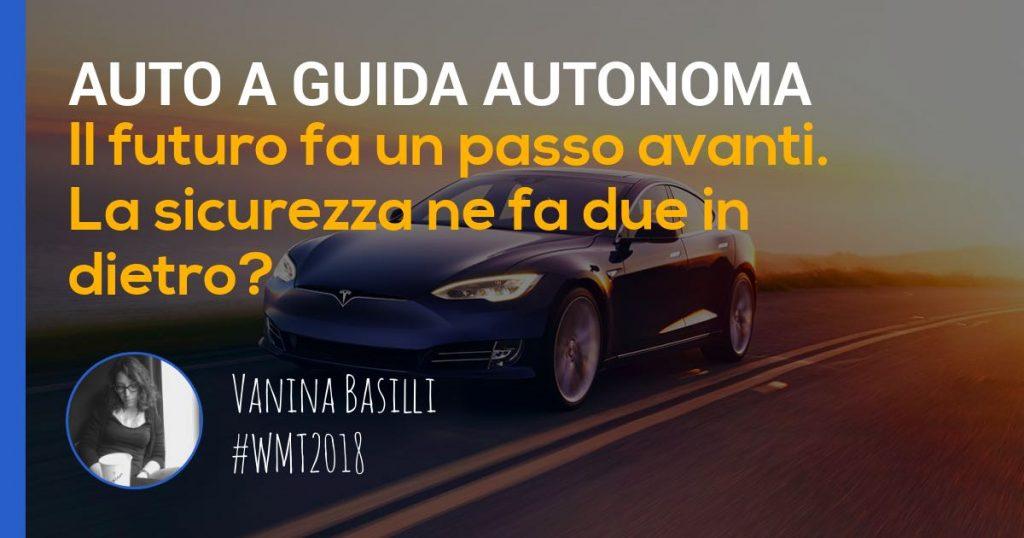 vanina basilli approfondimento sulle auto a guida autonoma
